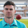 Filming Jimmy Anderson for Brut